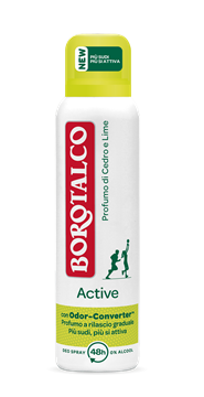 Immagine di BOROTALCO DEODORANTE SPRAY 150 ML ACTIVE GIALLO