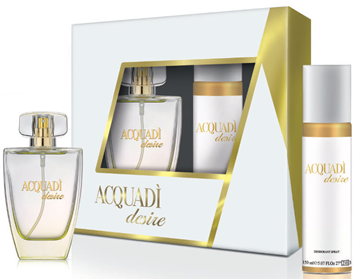 Picture of ACQUADI' CONFEZIONE REGALO DESIRE EDT 100 ML + DEO 150 ML