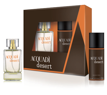 Picture of ACQUADI' CONF REG MAN DESERT EDT 100ML+DEO 150
