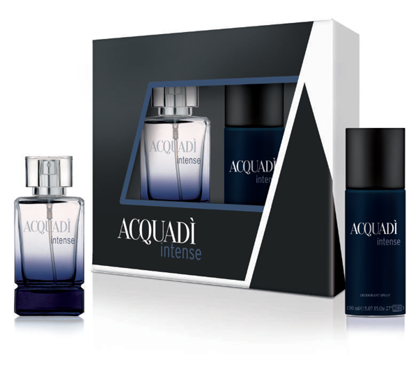 Picture of @ ACQUADI' CONF REG MAN INTENSE EDT 100ML+DEO 150