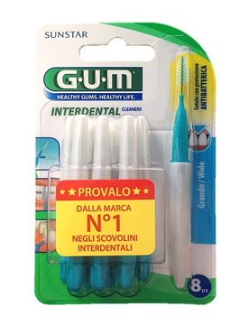 Picture of GUM SCOVOLINO INTERDENTALE GRANDE X 8