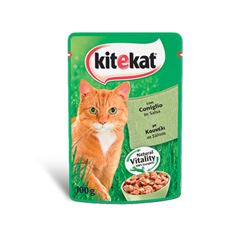 Picture of KITEKAT BUSTA CONIGLIO GR.100