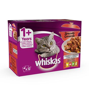 Picture of WHISKAS BUSTA STRACCETTI X 12 GR.85 GUSTOSA