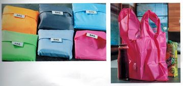 Picture of FOLDABLE SHOPPER ASSORTED COLORS 42X55 EXPO X 24 PZ