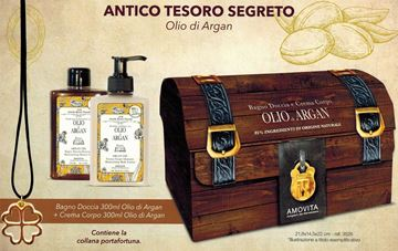 Picture of @ AMOVITA CONF BAULE ARGAN BAGNO 300+CR CORPO 300 3526