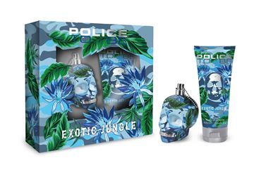 Picture of POLICE GIFT SET WOMAN TO BE EXOTIC JUNGLE EDP 40 ML + BODY LOTION 100 ML