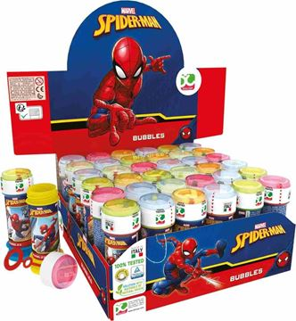Picture of SOAP BOBBLES SPIDER MAN ML 60