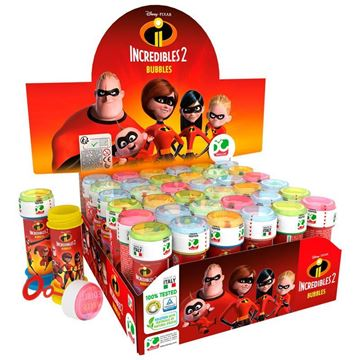Picture of SOAP BOBBLES INCREDIBLES 2