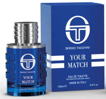 Picture of SERGIO TACCHINI YOUR MATCH EDT 100 ML SPRAY MAN