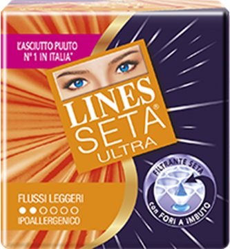 Picture of LINES ASSORB.SETA ULTRA LEGGERI X 14