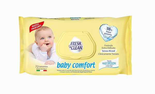 Picture of FRESH & CLEAN SALVIETTE BABY COMFORT X 72