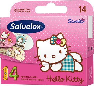 Picture of SALVELOX CEROTTI X 14 HELLO KITTY