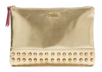 Picture of BUSTA COSMETICA 30028 PIATTA CLUTCH ORO