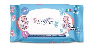 Picture of SOFFICE WIPES BABY X 15 TALCO