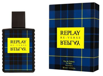 Immagine di REPLAY REVERSE UOMO EDT 50 ML SPRAY