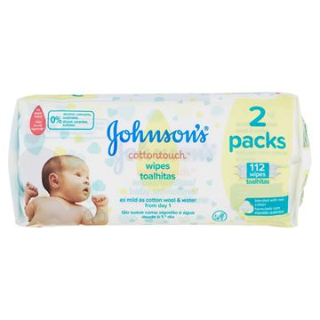 Immagine di JOHNSON SALVIET.BABY WIPES 56+56 OFFERTA