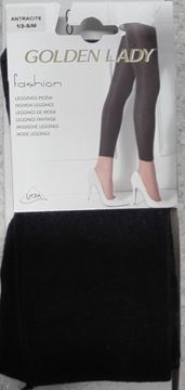 Immagine di GOLDEN LADY LEGGINS MODA 1/2 - S/M ANTRACITE