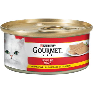 Picture of FRISKIES GOURMET G 195 MOUSSE POLLO & ANATRA