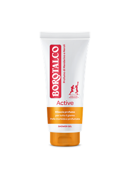 Picture of BOROTALCO DOCCIA GEL ACTIVE ARANCIO TUBO ML 200