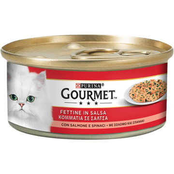 Picture of FRISKIES GOURMET G 195 SALMONE & SPINACI