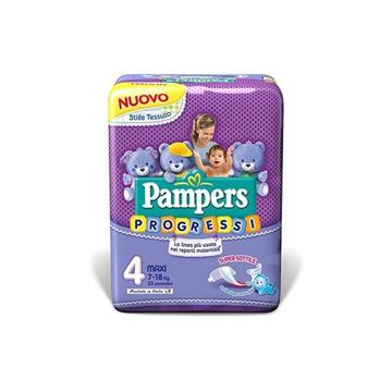 Picture of PAMPERS PROGRESSI MAXI X 23 7-18 KG