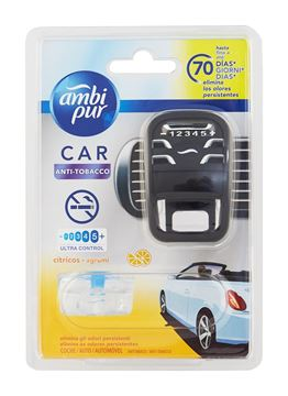 Picture of AMBIPUR CAR FRESHNER AQUA ANTITOBACCO