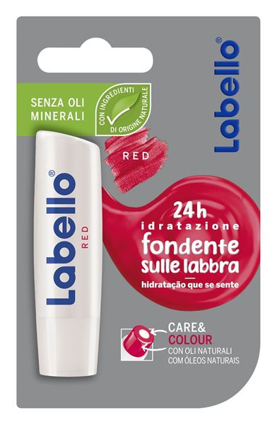 Picture of LABELLO BURROCACAO COLOR & CARE ROSSO