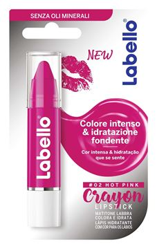 Picture of LABELLO BURROC CRAYON HOT PINK 85085