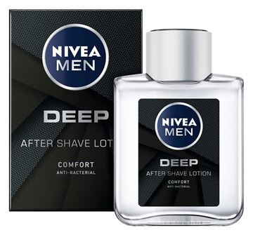 Picture of NIVEA AFTERSHAVE LOTION DEEP BLACK 88581