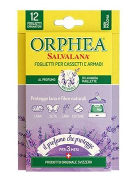 Picture of ORPHEA MOTHPROOF ENVELOPE 12 WARDROBE DIFFUSERS LAVANDER SCENT