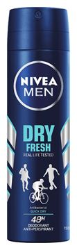Picture of @ NIVEA DEOD MEN DRY FRESH SPR 150 85996