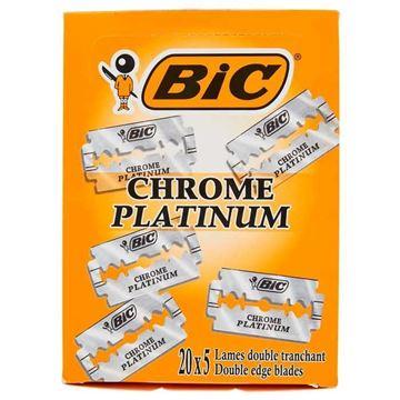 Immagine di BIC LAMA CHROME PLATINUM X 5 PZ BOX DA 20 PZ