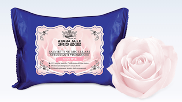 Picture of ACQUA ROSE ROBERTS CLEANSING WIPES X 20