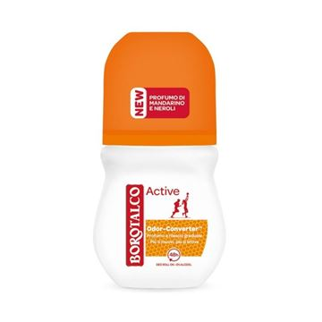 Immagine di BOROTALCO DEODORANTE ROLL ON ML 50 ARANCIO ACTIVE