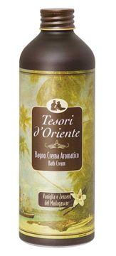 Bagno crema Vaniglia e Zenzero - Tesori d'Oriente