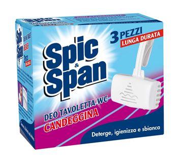 Picture of SPIC & SPAN DEO TAVOLETTA WC X 3 CON CANDEGGINA