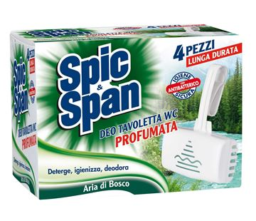 Picture of SPIC & SPAN PINE WOODS AIR WC TABLETS X 4