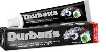Picture of DURBANS 5 ACTIONS NEW TOOTHPASTE 75 ML