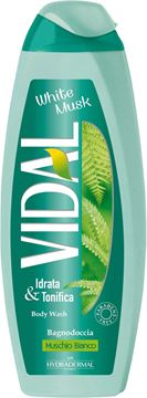 Picture of VIDAL WHITE MUSK BODY WASH 500 ML