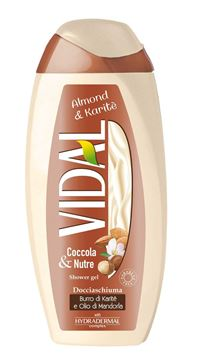Picture of VIDAL ALMOND & KARITE' SHOWER GEL 250 ML