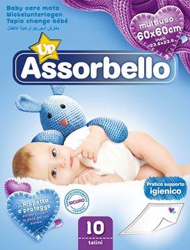 Immagine di ASSORBELLO BABY TELO IGIENICO X 10 60X60