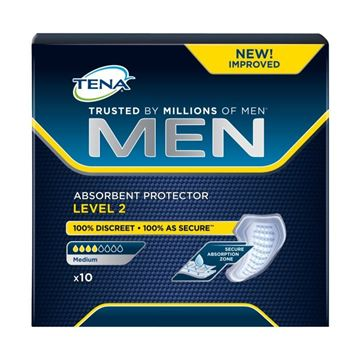 Picture of TENA FOR MEN ASS. X 10 LEVEL 2 MEDIUM