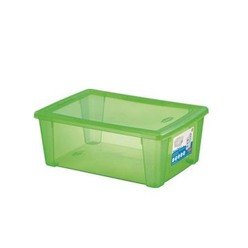 Picture of SCATOLA VISUALBOX 36X25X14 VERDE 13110