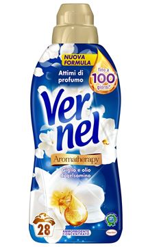 Picture of VERNEL FABRIC SOFTENER CONCENTRATE ML 700 BLU LILY & JASMINE OIL