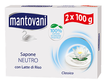 Picture of MANTOVANI SAPONE NEUTRO X 2 PZ