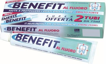 Picture of BENEFIT DENTIFRICIO AL FLUORO ML 75 X 2