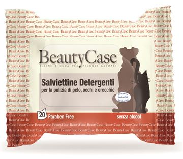 Picture of SALVIETTE DETERGENTI ANIMALI BEAUTY CASE X 20