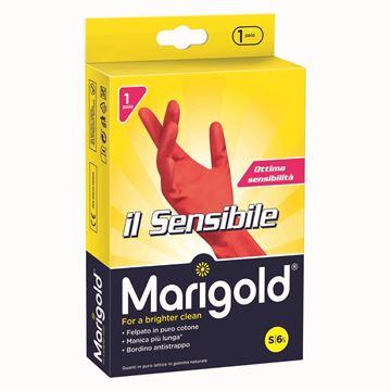 Picture of MARIGOLD GUANTI SENSIBILE 6.5-7 ROSSO