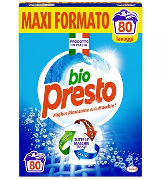Picture of BIO PRESTO LAUNDRY POWDER DRUM 4.4 KG 80 WASHES