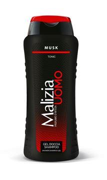 Picture of MALIZIA UOMO DOCCIA SHAMPOO MUSK ML 250